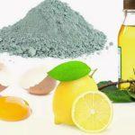 Эффективно для кожи: маска с голубой глиной и лимоном